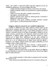 Administrarea Societatii Comerciale pe Actiuni - Sistemul Unitar - Pagina 5