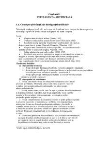 Sisteme Expert de Gestiune - Pagina 1