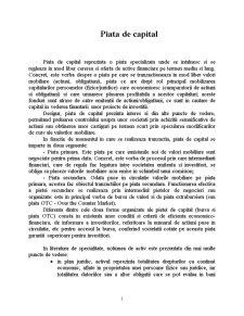 Piata de Capital - Pagina 1