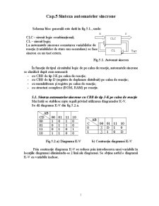 Sinteza Automatelor Sincrone - Pagina 1