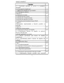 Estimare și Identificare - Pagina 1