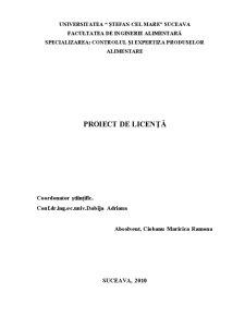 Studiul Privind Controlul Calitatii Conservelor de Carne in Suc Propriu - Pagina 1