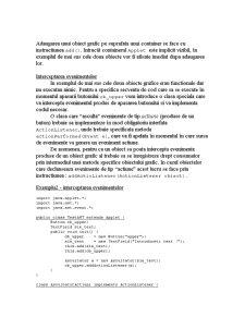 Interfa Grafica in Java - Pagina 3