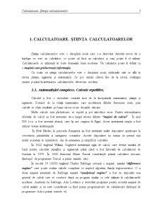 Utilizarea și Programarea Calculatoarelor - Pagina 1