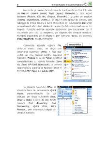 Microsoft Office Excel - O Introducere în Calculul Tabelar - Pagina 3