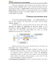 Microsoft Office Excel - O Introducere în Calculul Tabelar - Pagina 4