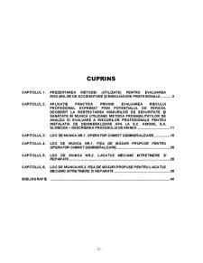 Evaluarea Riscului de Accidentare sau Imbolnavire Profesionala la SC Amonil SA Slobozia - Pagina 2
