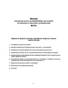 Evaluarea Riscului de Accidentare sau Imbolnavire Profesionala la SC Amonil SA Slobozia - Pagina 3