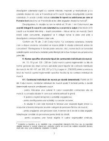 Dreptul Muncii - Contractul Individual de Munca - Capitolul 7 - Pagina 2