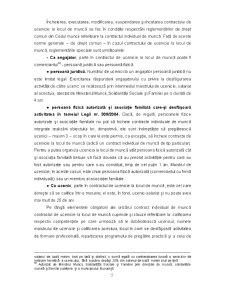 Dreptul Muncii - Contractul Individual de Munca - Capitolul 7 - Pagina 5