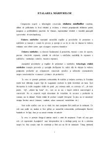Etalarea Mărfurilor - Pagina 1