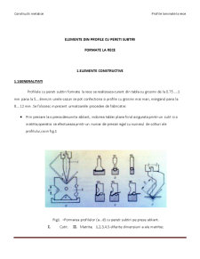 Profile Metalice Laminate la Rece - Pagina 1