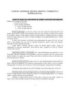 Drept Comercial Internațional - Pagina 1