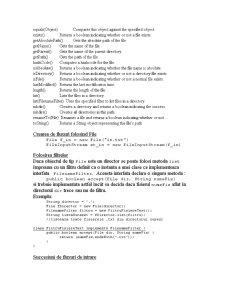 IO si Fisiere in Java - Pagina 3