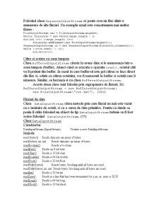 IO si Fisiere in Java - Pagina 4