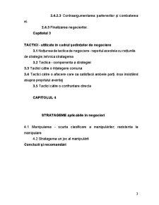 Tactici și Stratageme în Negocierea Internațională - Pagina 3