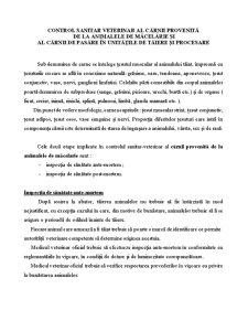 Control Sanitar Veterinar - Pagina 1