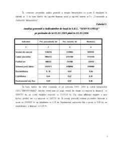 Contabilitatea Cheltuielilor, Veniturilor și a Rezultatului Financiar SRL Servicomas - Pagina 5