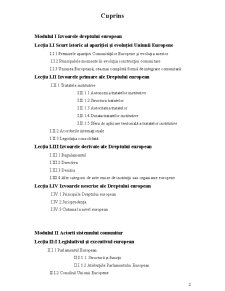 Drept European - Pagina 2