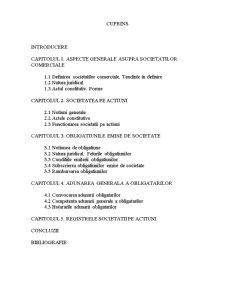 Regimul Juridic al Obligatiunilor Comerciale - Pagina 2
