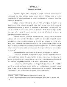Aspecte Generale privind Arbitrajul Comercial International - Pagina 1