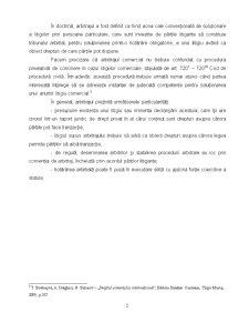 Aspecte Generale privind Arbitrajul Comercial International - Pagina 2