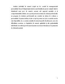 Managementul Personalului si Politica de Imbunatatire a Calificarii Acestora - Pagina 2