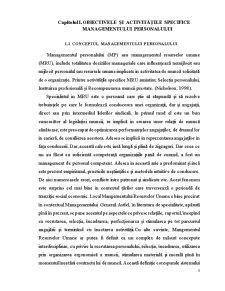 Managementul Personalului si Politica de Imbunatatire a Calificarii Acestora - Pagina 3