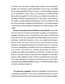 Managementul Personalului si Politica de Imbunatatire a Calificarii Acestora - Pagina 5
