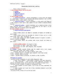 Piete de Capital - Seminarii - Pagina 1