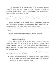 Conceptul de Asigurare si Functiile Asigurarilor - Pagina 2
