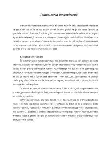 Comunicarea Interculturală - Pagina 2