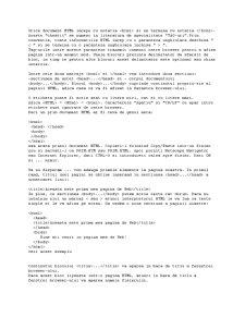 Curs Practic HTML - Pagina 1