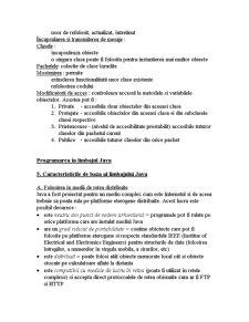 JAVA - Elemente Generale - Pagina 4