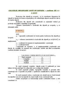 Proiect de Diploma - Calculul Incarcarii Date de Zapada - Pagina 1