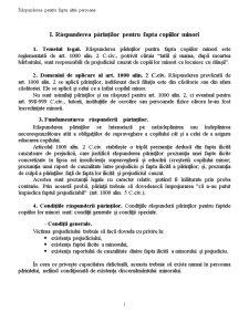 Obligatii - Raspunderea pentru Fapta altei Persoane - Pagina 1