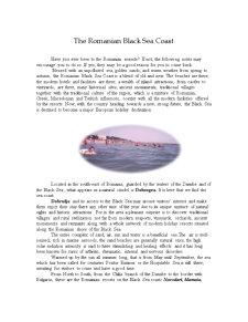 The Romanian Black Sea Coast - Pagina 2