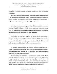 Introducere in Stiintele Comunicarii - Pagina 2