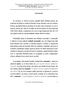 Introducere in Stiintele Comunicarii - Pagina 5