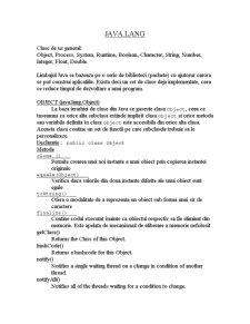 Java.lang - Pagina 1