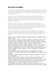 Etichetare Ecologica - Bilanturi de Mediu - Pagina 1