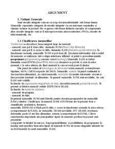 Memorii Semiconductoare - Pagina 1