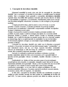 Dezvoltare Durabilă - Pagina 2