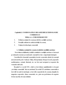 Organizarea si Tehnologia Comertului - Pagina 2