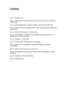 Instalatii Electrice de Iluminat si Prize - Pagina 2