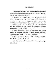 Reacția Ecofiziologică a Grâului Față de Tipul de Fertilizare Organică - Pagina 1