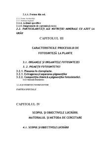Reacția Ecofiziologică a Grâului Față de Tipul de Fertilizare Organică - Pagina 3