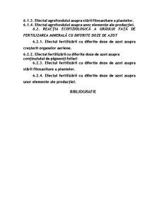 Reacția Ecofiziologică a Grâului Față de Tipul de Fertilizare Organică - Pagina 5