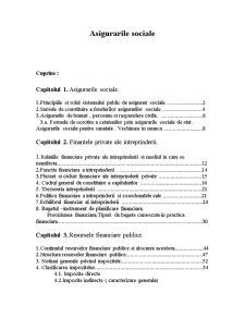 Asigurarile Sociale - Pagina 1