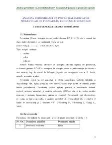 Analiza Peroxidazei ca Potențial Indicator Molecular de Poluare în Produsele Vegetale - Pagina 3